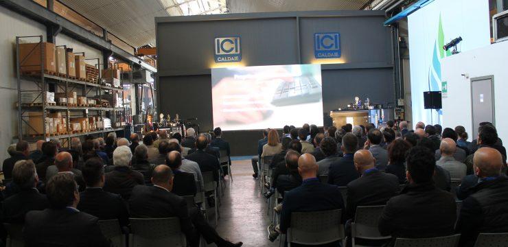 Български фирми гостуват в завода на ICI caldaie